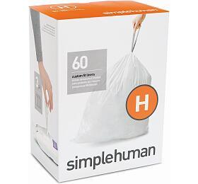 Sáčky do odpadkového koše 30-35 L, Simplehuman typ H zatahovací, 3 x 20 ks ( 60 sáčků ) WP CW0258 - Simplehuman