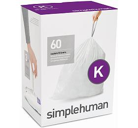 Sáčky do odpadkového koše 35-45 L, Simplehuman typ K zatahovací, 3 x 20 ks ( 60 sáčků ) CW0260 - Simplehuman