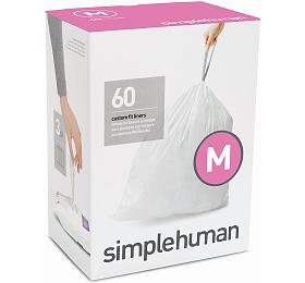 Sáčky do odpadkového koše 45 L, Simplehuman typ M zatahovací, 3 x 20 ks ( 60 sáčků ) CW0261 - Simplehuman