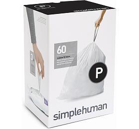 Sáčky do odpadkového koše 50-60 L, Simplehuman typ P zatahovací, 3 x 20 ks ( 60 sáčků ) CW0263 - Simplehuman