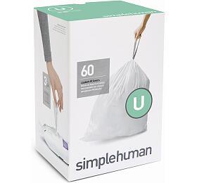 Sáčky do odpadkového koše 55 L, Simplehuman typ U zatahovací, 3 x 20 ks ( 60 sáčků ) CW0265 - Simplehuman