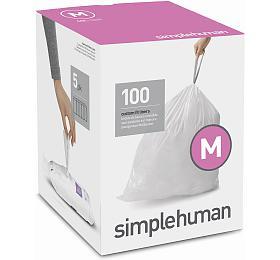 Sáčky do odpadkového koše 45 L, Simplehuman typ M zatahovací, 5 x 20 ks ( 100 sáčků ) CW0279 - Simplehuman