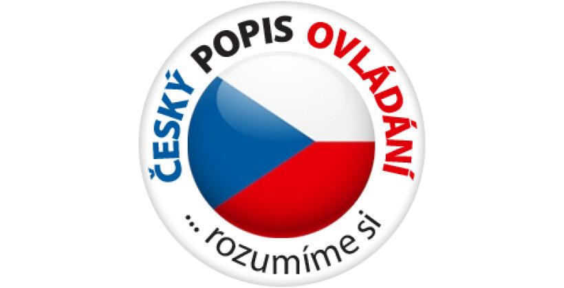 České popisky programů na ovládacím panelu